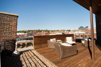 Incredible Views from your Rooftop Patio
