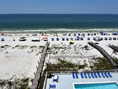 Photo for Gulf Tower 6A: 2  BR, 2  BA Condominium in Gulf Shores, Sleeps 6