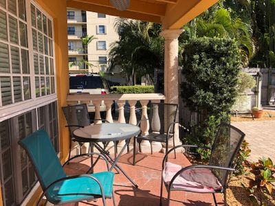 Photo for Flexible Cancellation policy -Amazing 1 Bedroom, Half block to the beach
