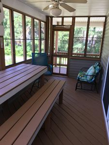 screened in side porch