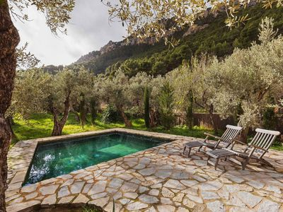Photo for One-of-a-kind, away from it all rustic house in the Tramuntana mountains