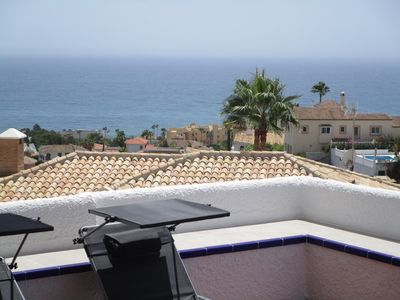Photo for Riviera, fully renovated apartment, sunny terrace with sea views