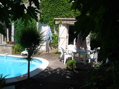 Photo for The House of Lise, 90 sqm Garden level, 4 pers., Private pool