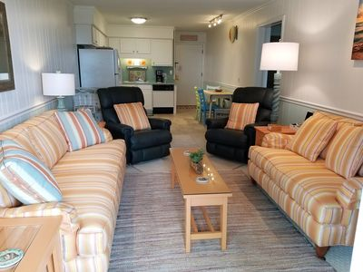 Photo for Beautiful , Bright and Airy FIRST FLOOR Condo with Wonderful Ocean View !!!