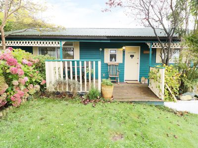Photo for LLEWELYN LODGE, with a garden in Aberystwyth, Ref 963666
