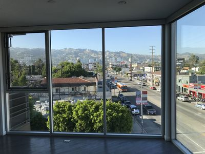 Photo for Corner unit with an amazing view of Hollywood Hills