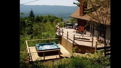Incredible views from the deck and hottub