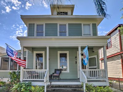 Photo for Historic Galveston Home - Walk to the Beach!