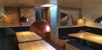Large sailing ship, 10 double cabins