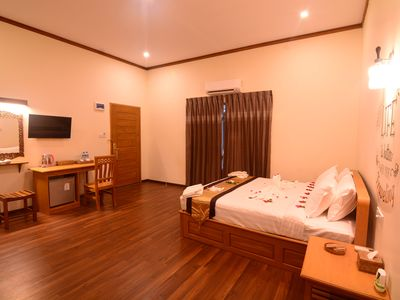 Photo for Spacious rooms in a calm environment