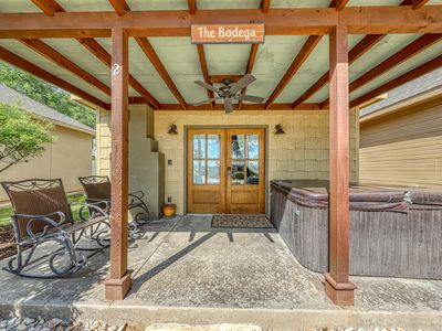 Photo for Wine country home w/ a private hot tub, a fireplace, & more!