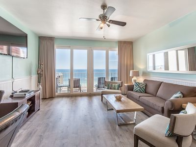 Photo for 225ft to Beach! Gulf Views☀Inspected & Disinfected☀2BR+Bunks Laketown Wharf 1326
