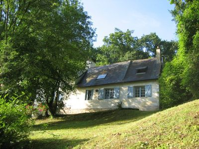 Photo for L'Ombrière is a charming 200 year old cottage overlooking the Loire