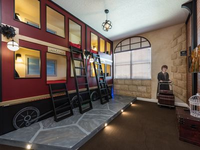 Photo for AS SEEN IN USA TODAY!  Themed bunk rooms just 6 miles to Disney