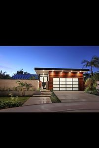 Photo for EcoChic Mid-Century Modern Gem w/salt water pool on 3 acres of lush oasis