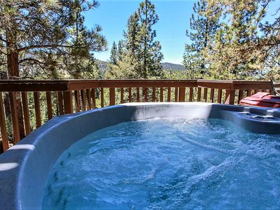 Photo for ~Crazy Bear Lookout~Amazing Deck Views~Hot Tub~Central Location~Minutes To All Activities~