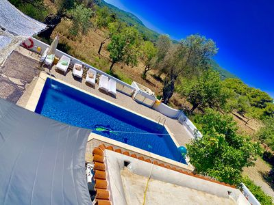 Photo for CHEERFUL HOLIDAY HOUSE IN IBIZA STUNNING CHEERFUL RUSTIC HOUSE A FABULOUS