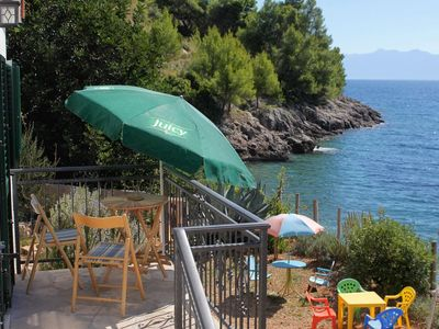 Photo for Seaside house for families with children Cove Tvrdni Dolac, Hvar (K-2057)
