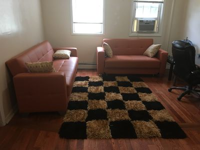 Photo for 1BR Apartment Vacation Rental in Elizabeth, New Jersey