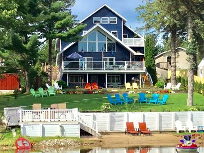 Photo for Almost 7,000 Sq Ft Lake Front Home! Minutes To Golf, Ski, Hot Tub