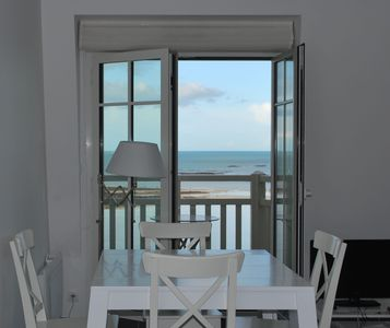Photo for Apartment sea view, the Furrow, in recent residence.