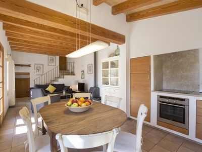 Photo for Rural house ( WiFi ), eco-pool, 4 pers., BBQ, 1.5Km from Pollensa