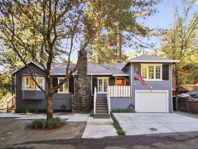 Photo for The Sandy Star - Enjoy Russian River Views and Access - Soak in the Spa!