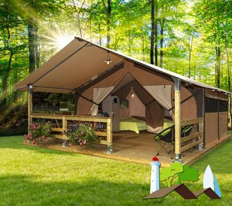 Photo for Lodge tent rental on Île d'Yeu