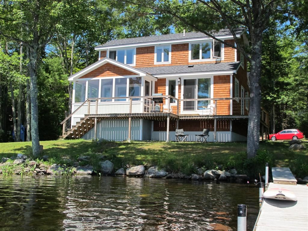 Tranquility On Beautiful Crystal Pond HomeAway Washington - And architectural cottages on secluded private pond homeaway