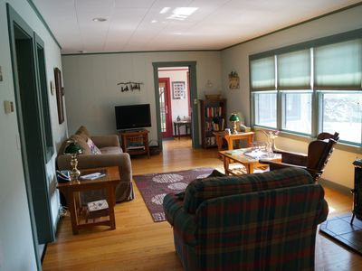 Photo for 4Season home/Pets Welcome/no added cleaning fees/plenty of parking/fire pit