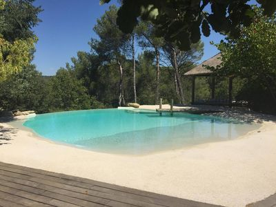 Photo for Large suite with garden and swimming pool 3km from Aix