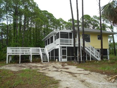 Photo for Sweet, 2 bedroom home, sleeps 7 with sofa bed. Plenty of decks and porches!