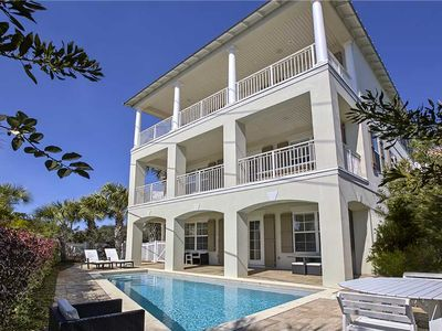 Photo for The Retreat - Seagrove Beach! 30A! Gulf Views! Heated Private Pool! Game Room!