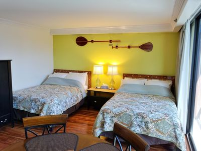 Photo for Waikiki Studio Suite W/ Full Kitchen And 2 Full Beds!
