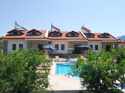 Photo for Grouped villas, three villas together, exclusivity, friend or family gatherings