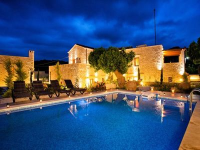 Photo for Arcus Suites - Superior Family Suite / Mylopetra -  Luxury Villa Suite with Pool in an original Venetian Village! - Free WiFi