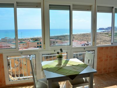Photo for Sea view apartment in La Mata, a few metres from the beach