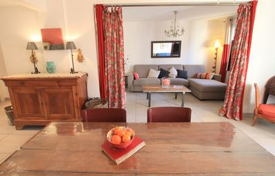 Photo for Lympia Cove: luxurious one bed flat, terrace, Port of Nice