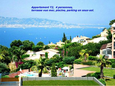 Photo for 1BR Apartment Vacation Rental in THEOULE SUR MER, Alpes Maritimes