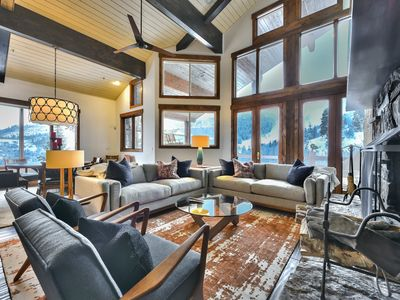 Photo for Contact us for Summer Savings! Ski-in Ski-out. Mountain Modern. Community Seasonal Pool.