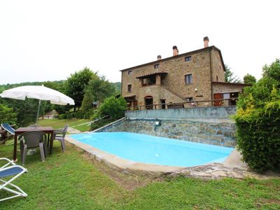 Photo for Part of old farmhouse with private pool in stone. Good Value for money.