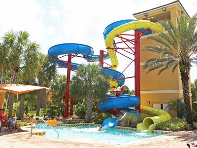 Photo for Waterslides, Lazy River, Activites, Clubhouse & More