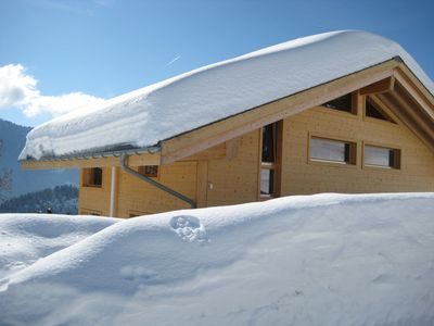 Chalet Tomeley in winter