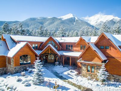 Photo for Eagle Summit is a 12,000 Sq. Ft. Private Chalet! Accommodates 24 Comfortably!
