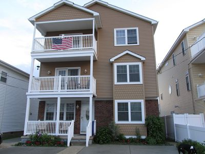 Photo for Brigantine 4th House from Beach