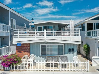 Photo for Spacious Oceanfront Lower Unit of a Duplex! Close to Balboa Pier!