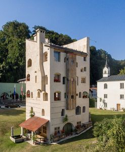 Photo for Apartment Fürstenpalais in the tower to Schloss Schedling near the Chiemsee