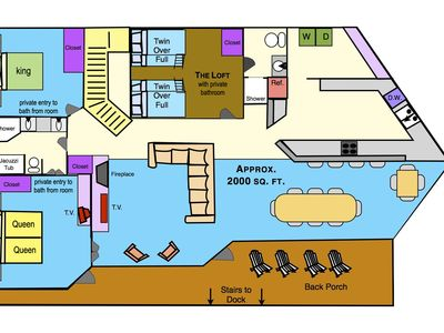 Key Allegro Holiday House SPECIALS Summers Here Remodeled – King Of Queens House Floor Plan