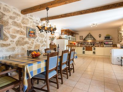 Photo for Large private house and garden in a quiet village. Unspoilt countryside,