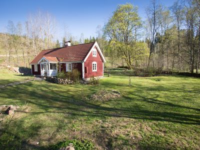 Photo for Beautiful and comfortable, newly renovated, classic swedish 'torp' house.